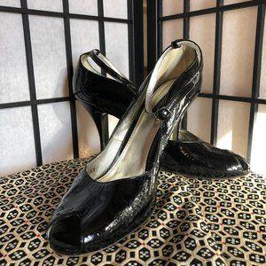 Dolce & Gabbana Vero Cuoio Black Heels Size 10/41